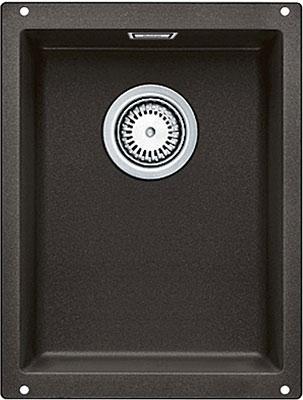 Кухонная мойка BLANCO SUBLINE 320-U SILGRANIT кофе с клапаном-автоматом  blanco subline 320 u антрацит