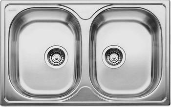 Кухонная мойка BLANCO TIPO 8 Compact нерж. сталь матовая blanco alta 512319 tap mixing valve oriental style chrome by blanco