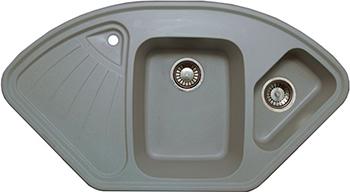 Кухонная мойка LAVA A.3 (SCANDIC серый ) кухонная мойка lava q 1 scandic серый