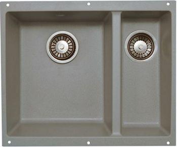 Кухонная мойка LAVA U.2 (SCANDIC серый ) кухонная мойка lava a 2 scandic серый