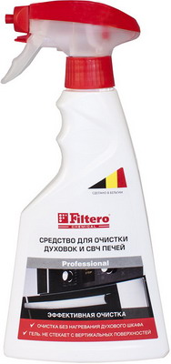 Средство для чистки духовок и СВЧ печей Filtero 411 пена top house д плит свч печей 500мл