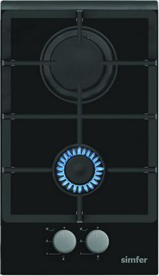 Встраиваемая газовая варочная панель Simfer H 30 L 20 B 513 встраиваемая газовая варочная панель simfer h 60 m 41 o 412