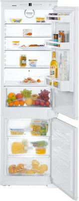 Встраиваемый двухкамерный холодильник Liebherr ICS 3324 встраиваемый двухкамерный холодильник liebherr icbp 3266 premium
