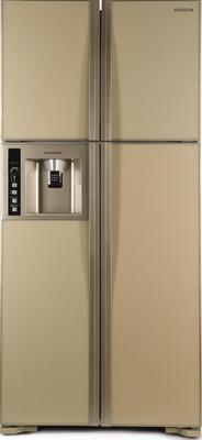 Фото - Холодильник Side by Side Hitachi R-W 662 PU3 GBE бежевое стекло двухкамерный холодильник hitachi r v 472 pu3 pwh