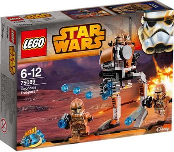 Конструктор Lego STAR WARS Пехотинцы планеты Джеонозис (GEONOSIS TROOPERS) 75089 lego lego star wars 75089 лего звездные войны пехотинцы планеты джеонозис