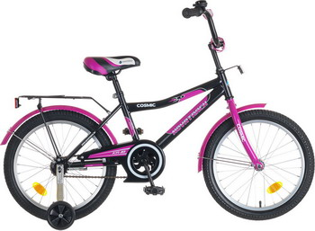 Велосипед Novatrack 18 COSMIC черный детский велосипед для девочек novatrack cosmic 18 black violet