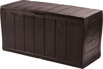 Сундук Keter SHERWOOD коричневый 17198596 стол сундук circa storage rattan table 132l keter