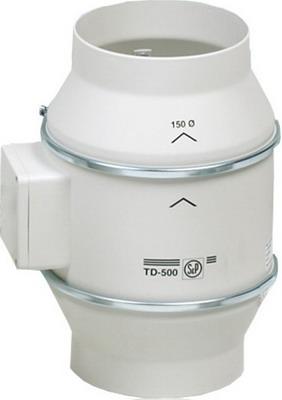 Канальный вентилятор Soler amp Palau TD 500 T/160 (белый) 03-0101-214 original lb050wq02 td03 display td 03 lb050wq2
