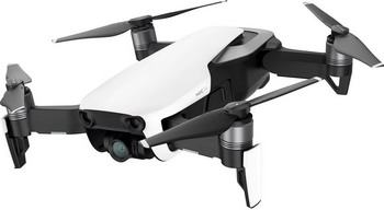 Квадрокоптер DJI MAVIC AIR Fly More Combo (EU) Arctic White квадрокоптер dji mavic air fly more combo с камерой красный
