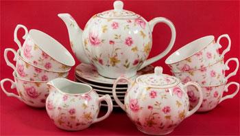 Сервиз KingStar 15 пр. (RP-11908) 427-469 сервиз чайный дулевский фарфор агат президент 15 предметов