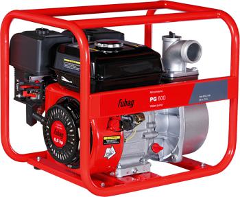 Мотопомпа бензиновая для чистой воды FUBAG PG 600 838259 мотопомпа бензиновая водяной насос etalon gpl 20 мп 600