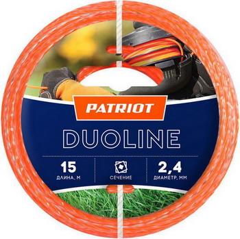 Леска Patriot Duoline 240-15-6 805401161 снегоуборщик patriot сибирь 60 6 5л с [426108600]