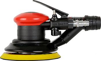 Машина шлифовальная пневматическая FUBAG SVC 125 с пылеотводом 100390 пневматическая орбитальная шлифмашина fubag s150