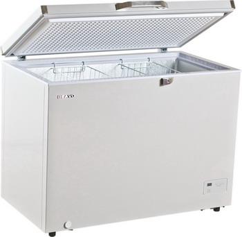 Морозильный ларь Bravo XF-232 ADGr серый цена