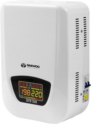 Стабилизатор напряжения Daewoo Power Products DW-TM 12 kVA стабилизатор daewoo dw tzm500va basic line