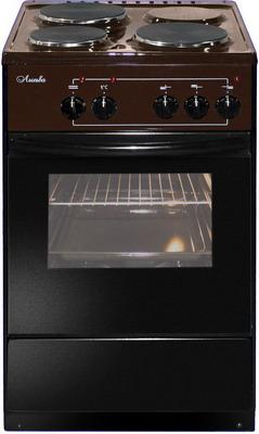 Электроплита Лысьва ЭП 301 коричневая электрическая плита лысьва эп 301 wh