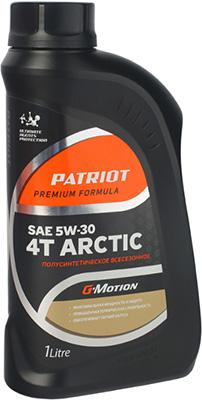 Масло Patriot G-Motion 5W 30 4Т ARCTIC 1л 1 5w waterproof solar motion led gutter light fence lamp for garden yard