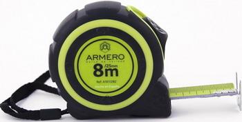 Рулетка Armero A 101/282 рулетка armero лента фибергласовая 50 м