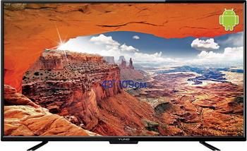 LED телевизор Yuno ULX-43 FTC 245 черный набор tetrix для ftc соревнований