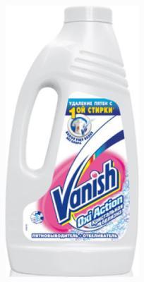 Пятновыводитель VANISH OXI Action + отбеливатель жидкий кристальная белизна 2 л отбеливатель 1л белизна