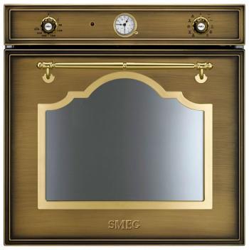 Встраиваемый электрический духовой шкаф Smeg SF 750 OT электрический духовой шкаф smeg sf855po