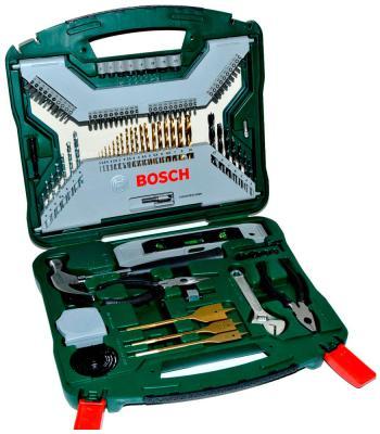Набор принадлежностей Bosch X-Line Titanium 103 предмета (2607019331) набор инструмента bosch x line 103 2607019331