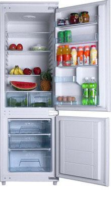 Встраиваемый двухкамерный холодильник Hansa BK 316.3 двухкамерный холодильник don r 295 b