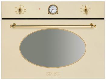 Встраиваемая микроволновая печь СВЧ Smeg SF 4800 MP цена и фото