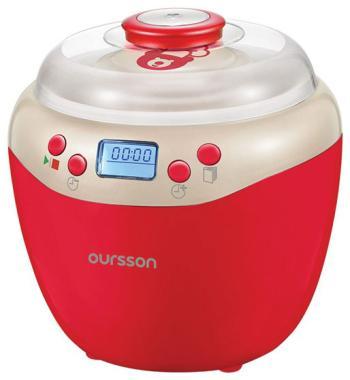 Йогуртница Oursson FE 2103 D/RD (Красный) холодильник однодверный oursson rf 1005 rd