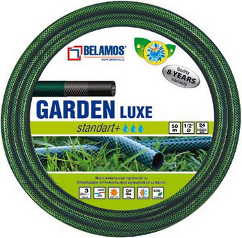 Шланг садовый BELAMOS GARDEN Luxe 1 х 25м шланг садовый plus трехслойный 3 4 25м