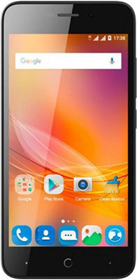 Мобильный телефон ZTE Blade A 601 черный skinbox флип кейс zte blade x5