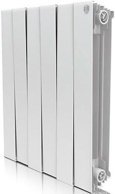 Водяной радиатор отопления Royal Thermo PianoForte 500/Bianco Traffico - 6 секц. радиатор отопления royal thermo pianoforte 500 silver satin 10 секц