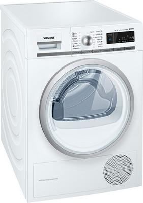 Сушильная машина Siemens WT 45 W 561 OE встраиваемая стиральная машина siemens wk 14 d 541 oe