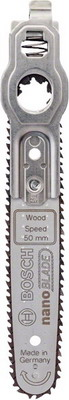 Пилка Bosch Nanoblade Wood Speed 50 2609256 D 84 пылесборник bosch 2609256 f 32
