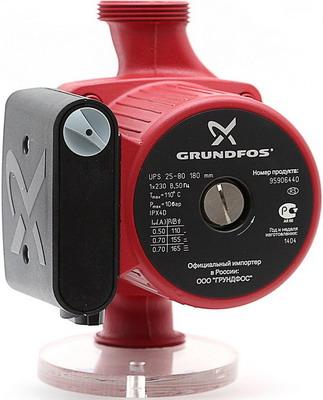 Насос Grundfos UPS 25-80 насос для воды grundfos ups 65 185 f