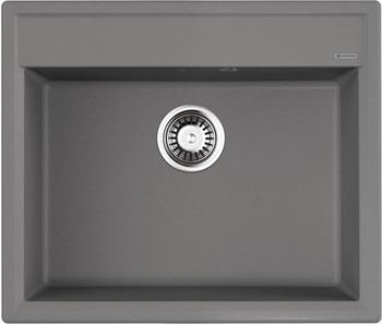 Кухонная мойка OMOIKIRI Daisen 60-GR Artgranit/Leningrad Grey (4993620) кухонная мойка omoikiri yonaka 65 gr 650х510 leningrad grey 4993346