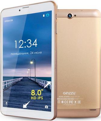 Планшет Ginzzu GT-8010 золотистый планшет ginzzu gt x770 black mtk8735m 1