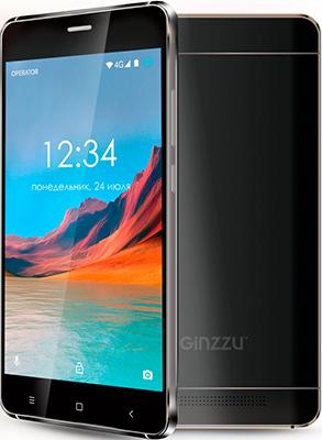 Мобильный телефон Ginzzu S 5220 черный ginzzu s5050