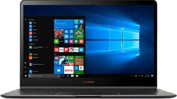 цена на Ноутбук ASUS Zenbook Flip S UX 370 UA-C 4059 T (90 NB0EN2-M 02500) Smoke Grey + Чехол  мини-докстанция  стилус