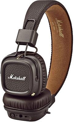 Наушники Marshall Major II Bluetooth Brown marshall major ii brown