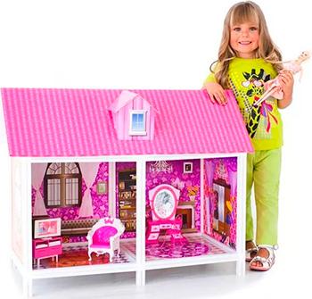 цена на 1-этажный кукольный дом Paremo PPCD 116 (2 комнаты мебель кукла)