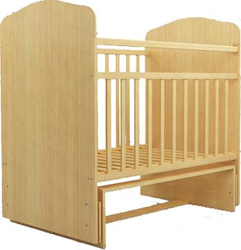 Детская кроватка Агат Золушка-10 Светлая обычная кроватка агат 52101 золушка 1 орех