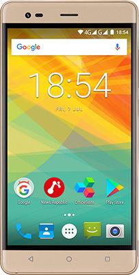 Мобильный телефон Prestigio Grace R5 Dual SIM Gold мобильный телефон nokia 130 dual sim 2017 grey