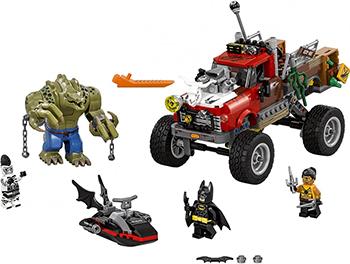 Конструктор Lego Batman Movie Хвостовоз Убийцы Крока 70907-L