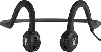 Проводные наушники Aftershokz Sportz Titanium с микрофоном  цвет черный sportz