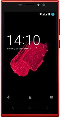 Мобильный телефон Prestigio Muze C5 Dual SIM Red мобильный телефон prestigio muze b3 dual sim black