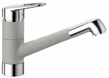 цены Кухонный смеситель BLANCO NOTIS SILGRANIT жемчужный 523250