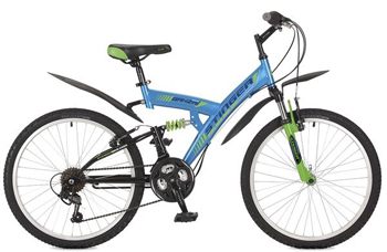 Велосипед Stinger 24 SFV.BANZAI.16 BL7 24'' Banzai 16 5'' синий stinger banzai 18 2016 х72830 к blue red