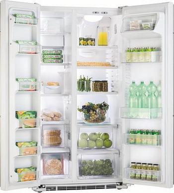 Холодильник Side by Side Iomabe ORGF2DBHFWW белый холодильник side by side iomabe ore 24 cghfbb черный
