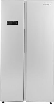 Холодильник Side by Side Ascoli ACDS 571 W silver короткая изогнутая ручка